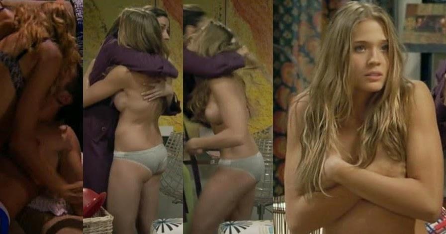 2 chicas espanolas en una playa nudista en vivo - 1 part 9
