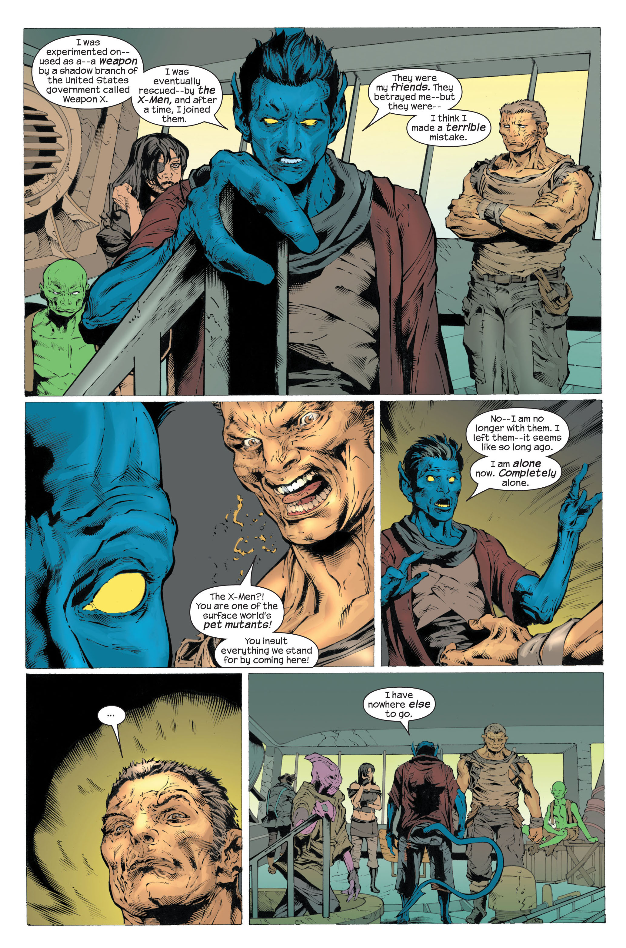Read online Ultimate X-Men comic -  Issue #82 - 14
