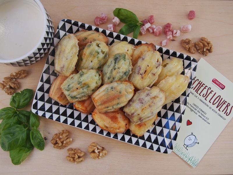 Madeleines salate per un aperitivo sfizioso