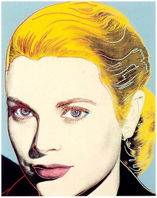 Grace Kelly Screenprint on Lenox Museum Board. 1984 40
