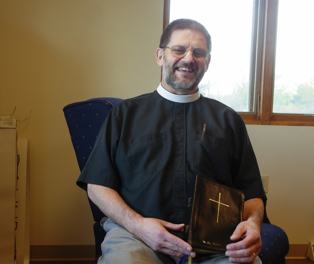 Alice's Grand Adventures: Meet Father Chris O'Connor