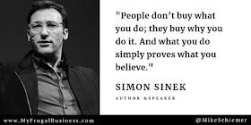Bootstrap Business: Simon Sinek Quotes