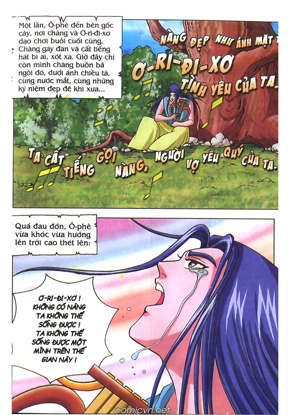 Thần Thoại Hy Lạp Màu - Chapter 40: Chuyện tình buồn của chàng Ô phê - Pic 19