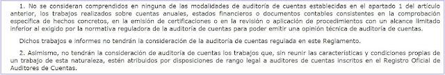 art. 2 del Reglamento de Auditoría de Cuentas