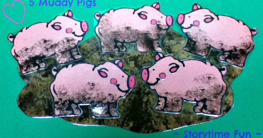 Storytime Abc S Storytime Craft Muddy Pigs