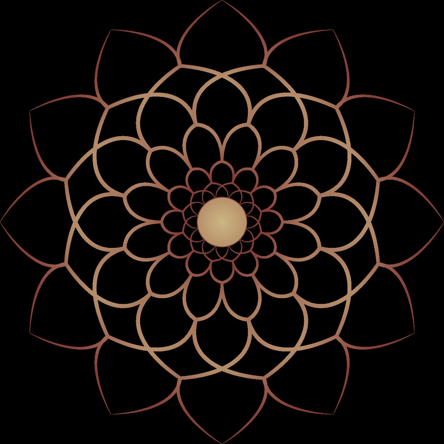 زخرفة اسلامية مدورة من دون خلفية للتصميم والمونتاج بالفوتوشوب Islamic Decoration Of The Montage