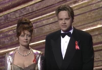 Susan Sarandon y Tim Robbins en la gala de 1993