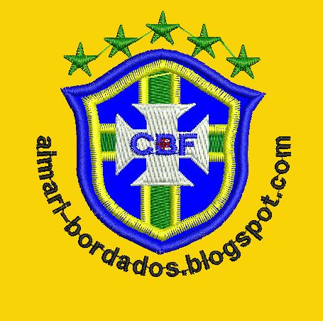 ESCUDO DE BRASIL PARA BORDAR