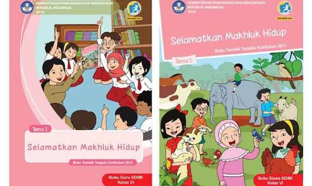 Buku Tematik Kelas 6 Tema 1 Kurikulum 2013 Revisi 2018 ...