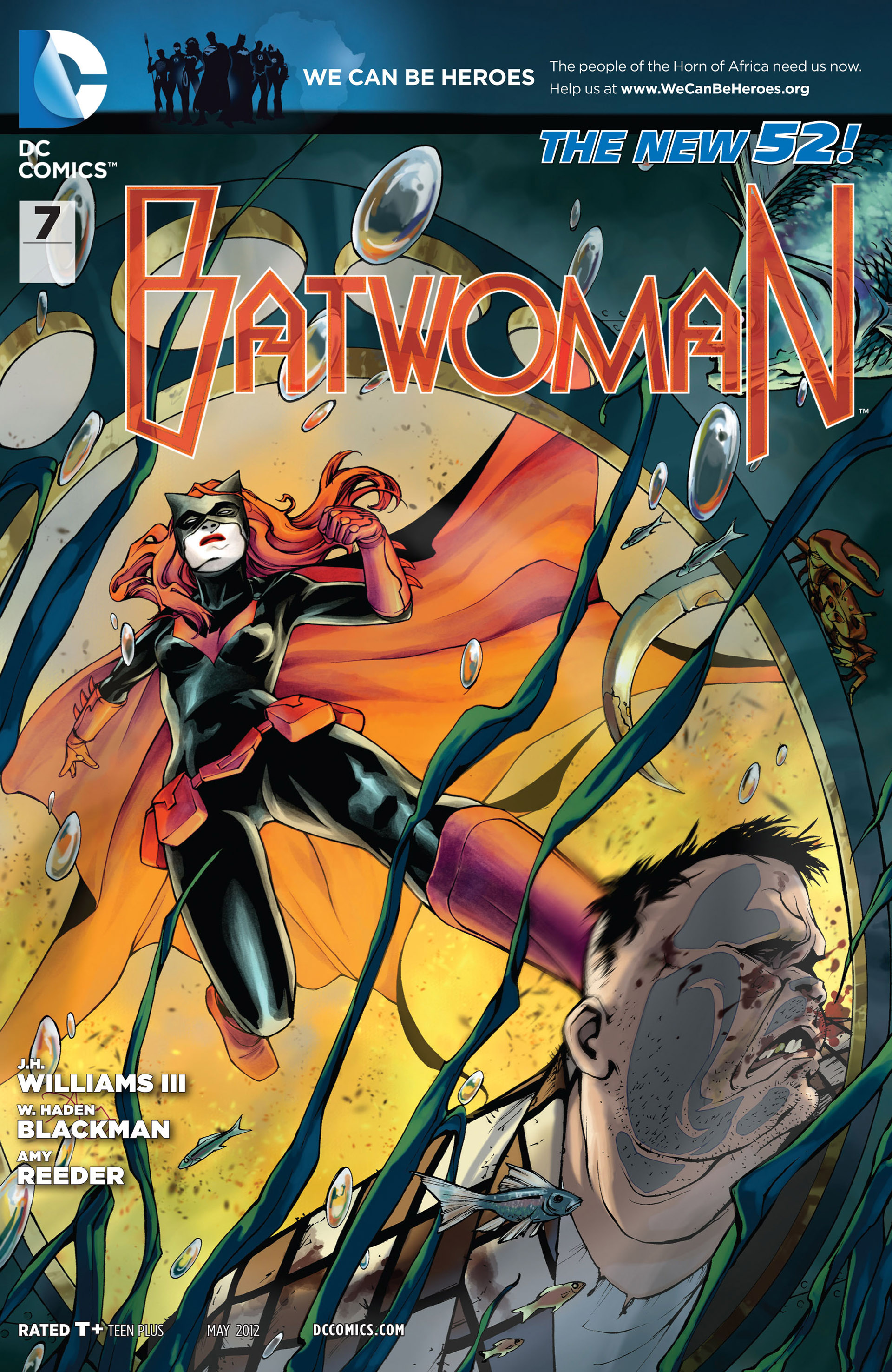 Batwoman (2011) issue 7 - Page 1