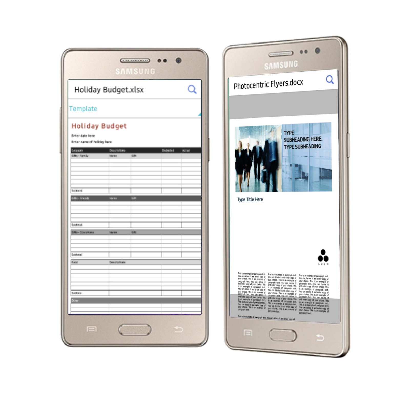 Hancom Office 2014 Viewer Samsung Z3