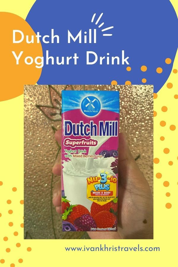 Dutch Mill Yoghurt Drink product review