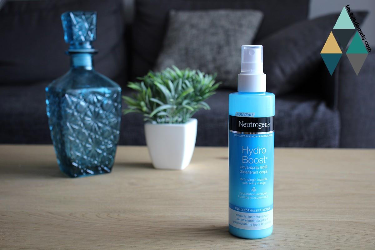 Aqua spray lacté désaltérant hydro boost hydratant