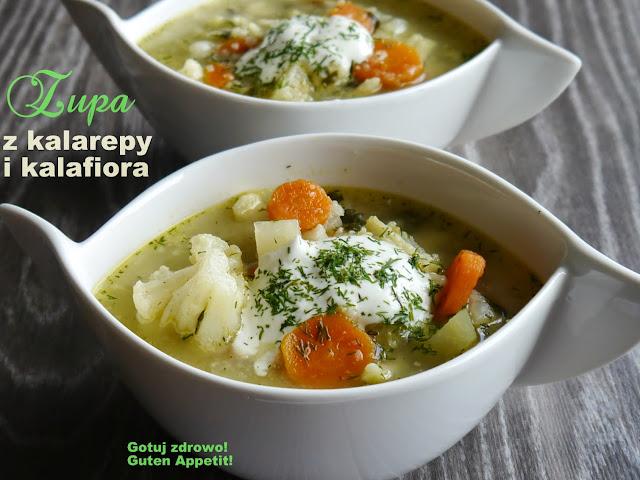 Zupa z kalarepy i kalafiora - Czytaj więcej »