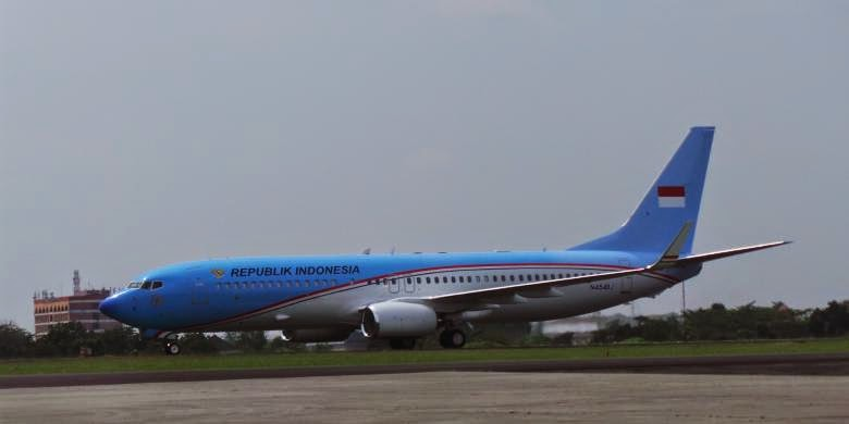 """Indonesian One"" Pesawat Kepresidenan Republik Indonesia ..."