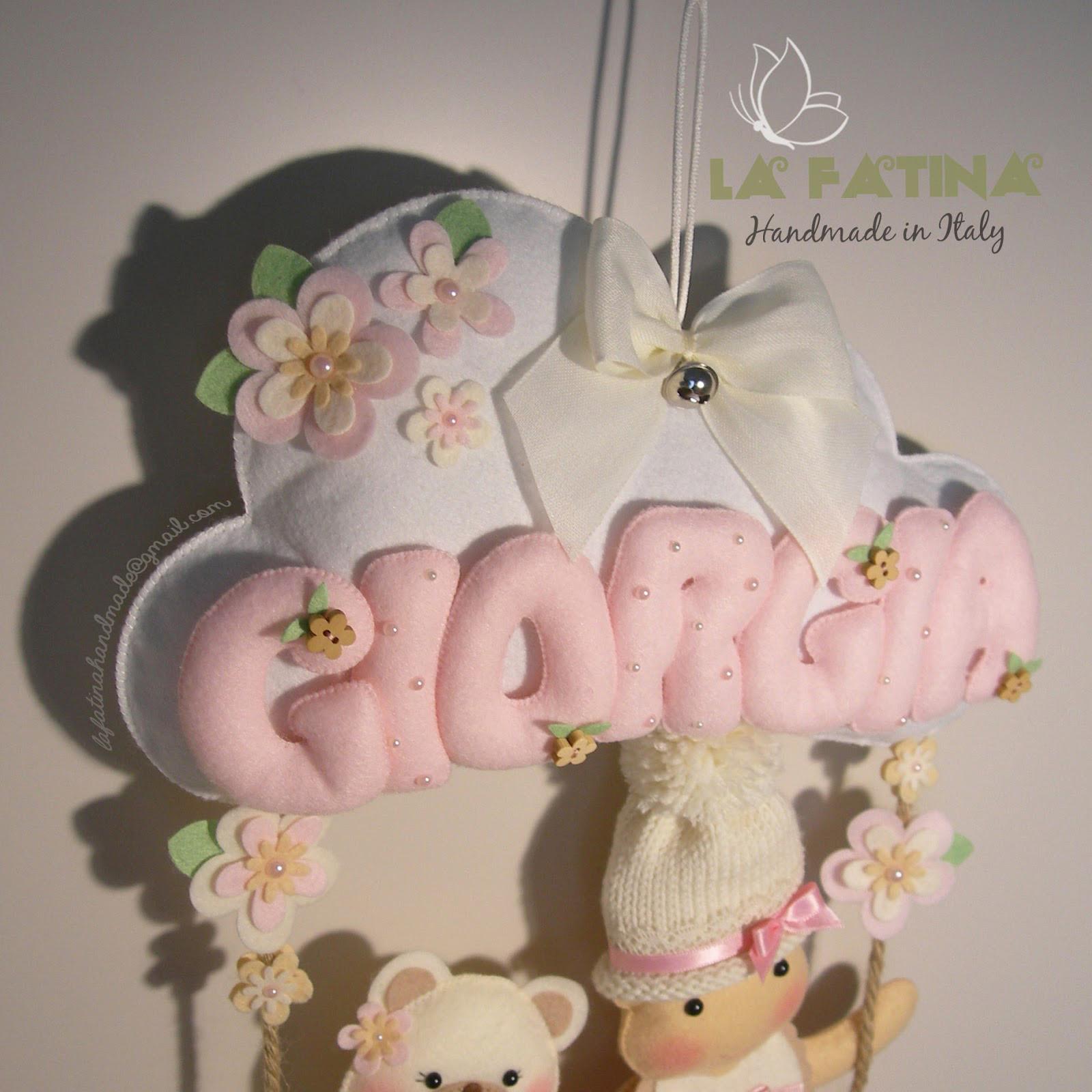 Bien-aimé Il Fiocco Nascita di Giorgia..! NL43