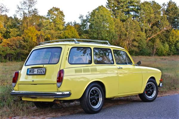Just A Car Geek: 1973 VW Squareback - A Nicely Restored Type