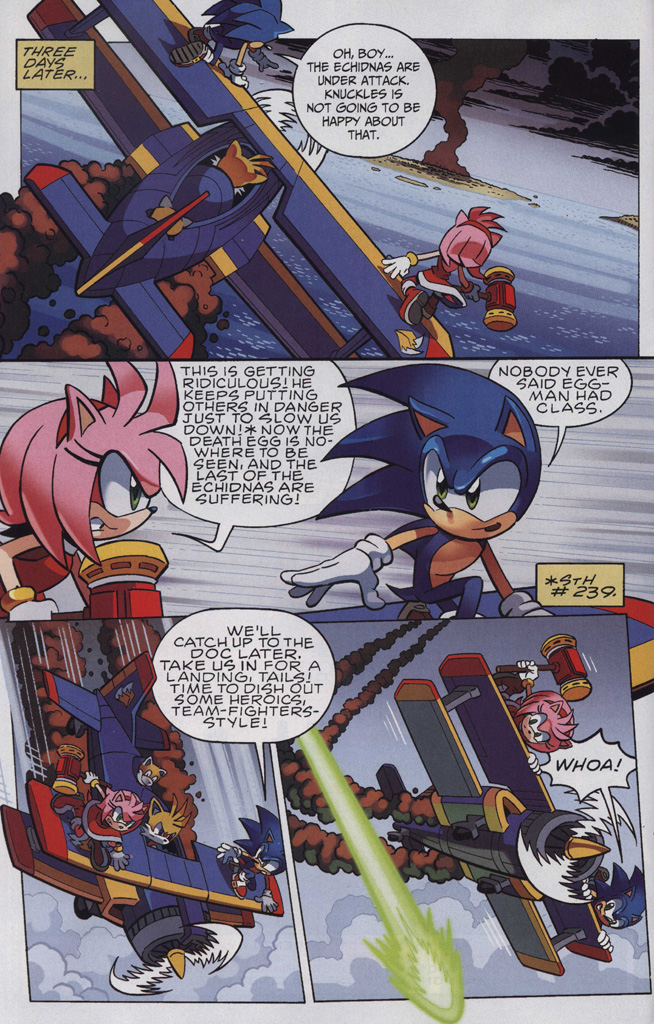 Read online Sonic The Hedgehog comic -  Issue #243 - 6