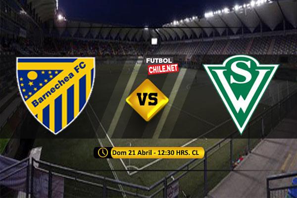 Mira Barnechea vs Santiago Wanderers en vivo y online por la Primera B