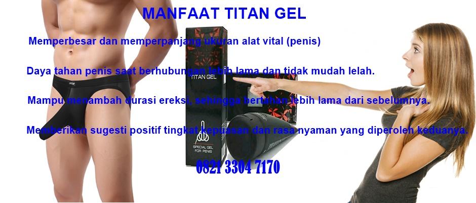 Titan Gel Obat Pembesar Penis Terbaik No 1 Di Dunia