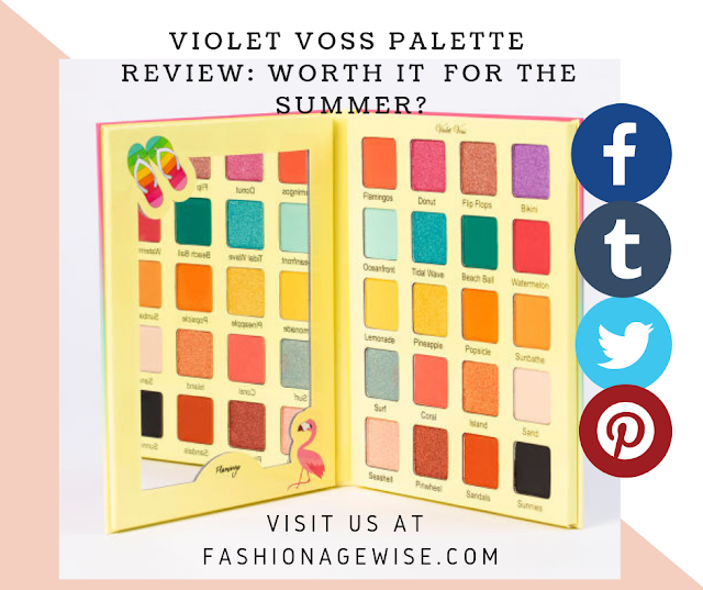 image result VIOLET VOSS PALETTE REVIEW: WORTH IT  FOR THE SUMMER?