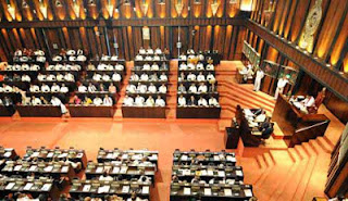 Party leaders of Sri Lanka parliament meet to discuss the debate on the impeachment motion