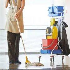 Мастер по клинингу (уборщица квартир), вакансия для патента