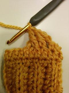 ケーブルパターンAの編み方