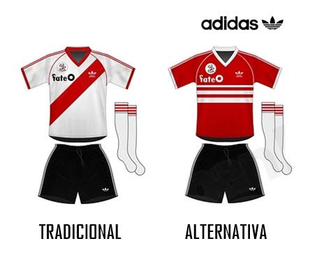 c3ce88030e0 En 1986 el Club Atlético River Plate por primera vez en su toda su historia  luciría en su indumentaria oficial un sponsor comercial.
