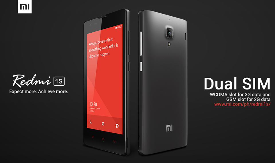 Xiaomi Redmi 1S: Specs, Price and Availability