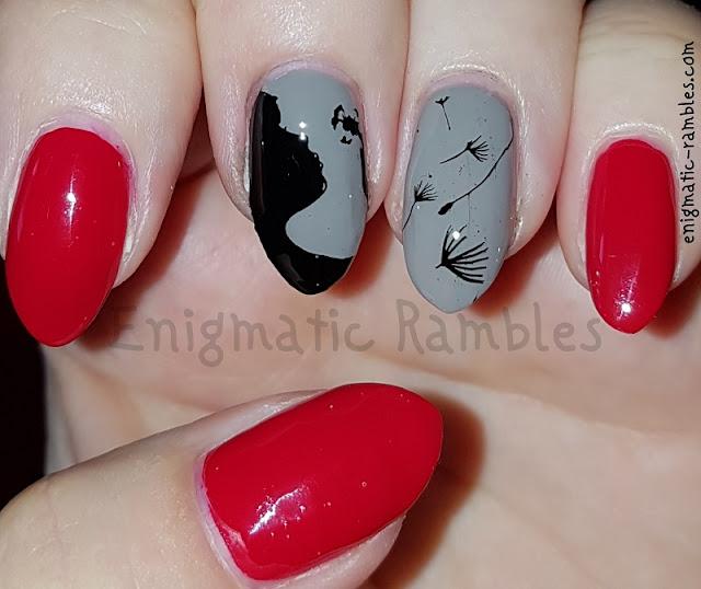 Dandelion-Nail-Art