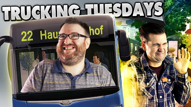 PARADISE BUSES - Bus Sim 2016 - Trucking Tuesday
