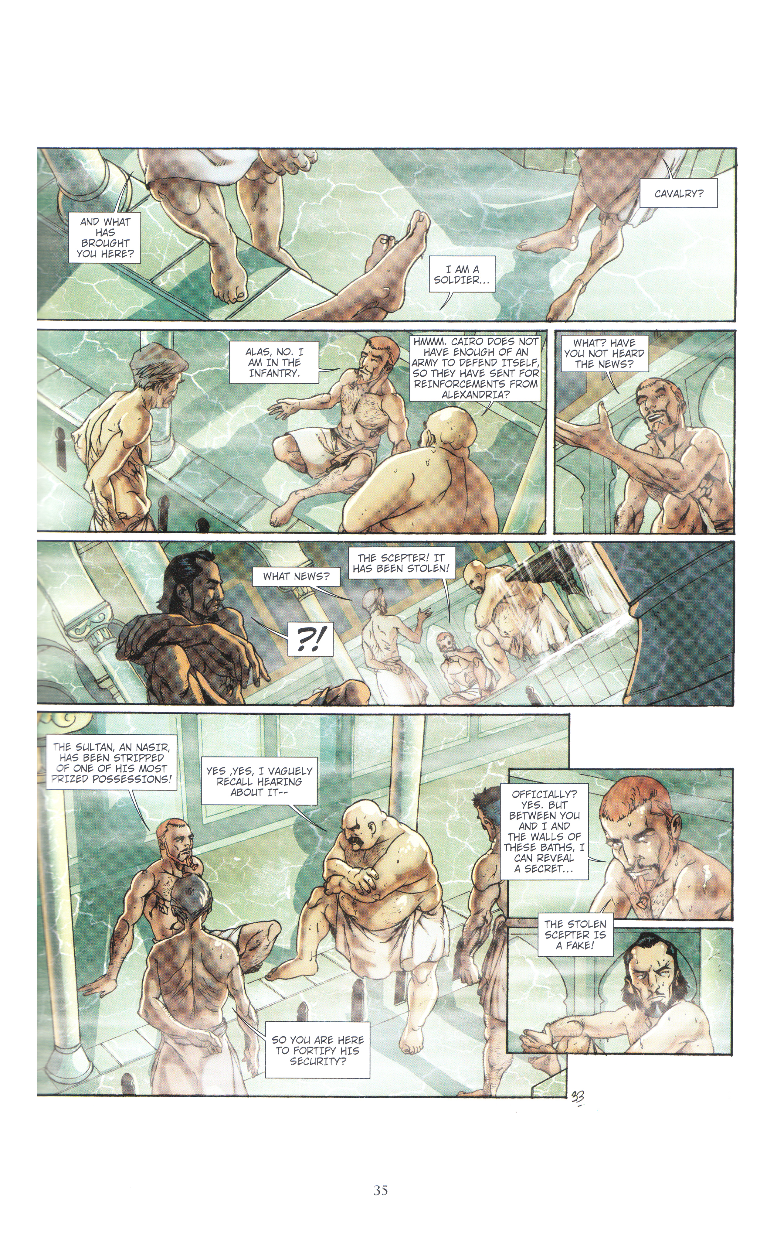 Read online Assassin's Creed (2012) comic -  Issue #4 - 35