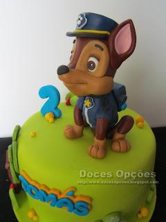 cake chase paw patrol