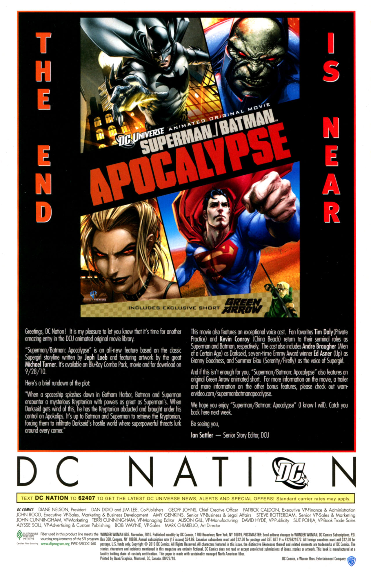Read online Wonder Woman (2006) comic -  Issue #603 - 24