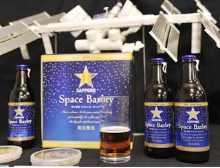Sapporo's Space Barley dari Jepang