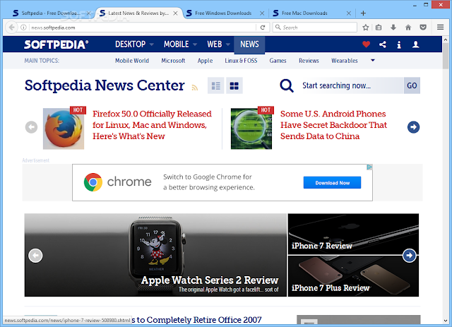 تحميل متصفح فايرفوكس نسخة محمولة Portable Firefox 50