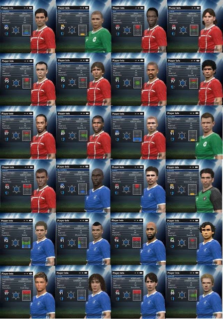 PES 2016 Updated Classics Teams For PTE Patch 6.0