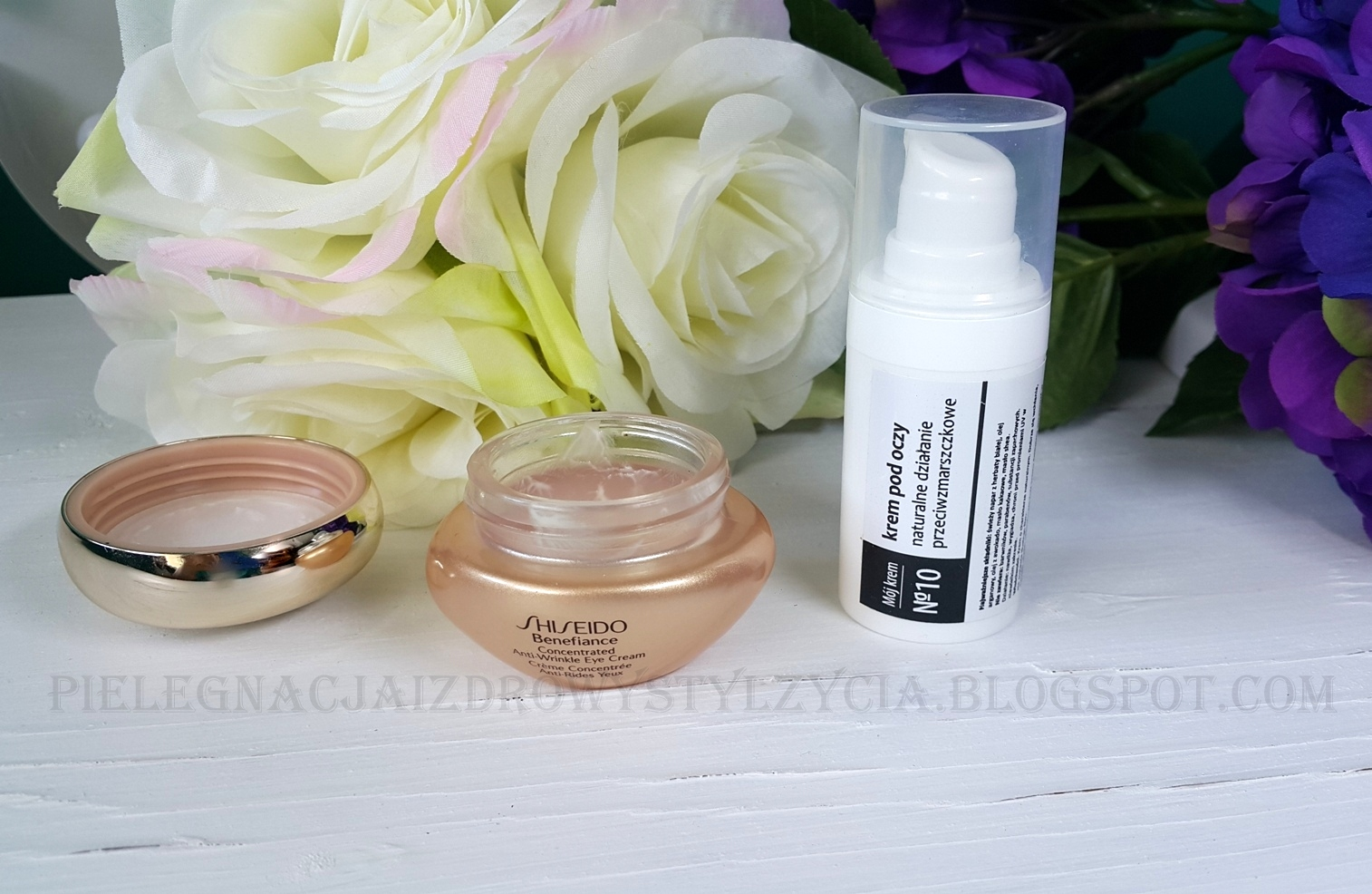 Krem pod oczy Shiseido, Fitomed