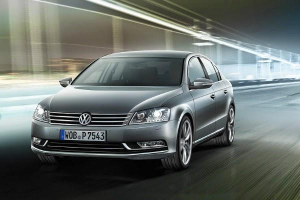 Volkswagen Passat 2014 вид спереди