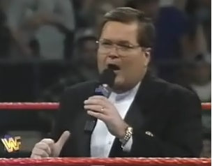 WWF / WWE - In Your House 11: Buried Alive - Heel Jim Ross was very angry at this show