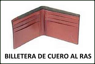 MOLDE BILLETERA DE CUERO