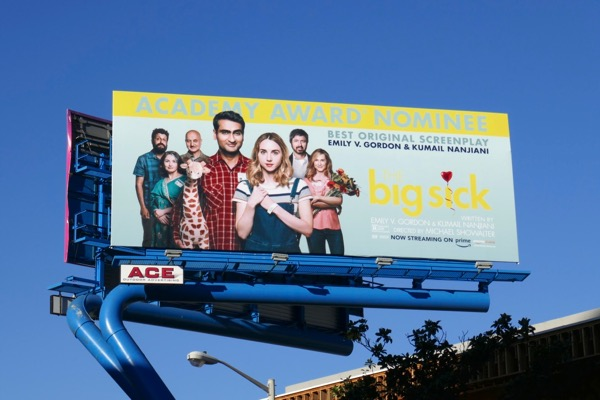 Big Sick Oscar nominee billboard