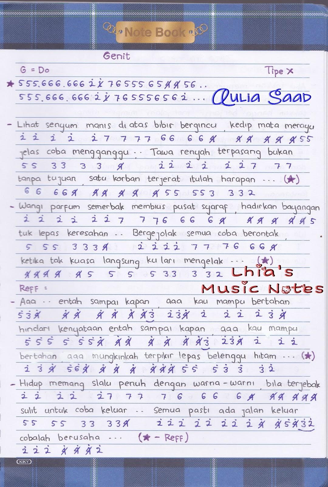 Chord : Tipe X - BOYBAND