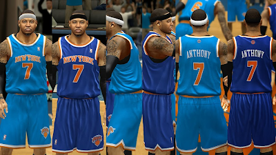 NBA 2K14 Knicks Jersey Fix
