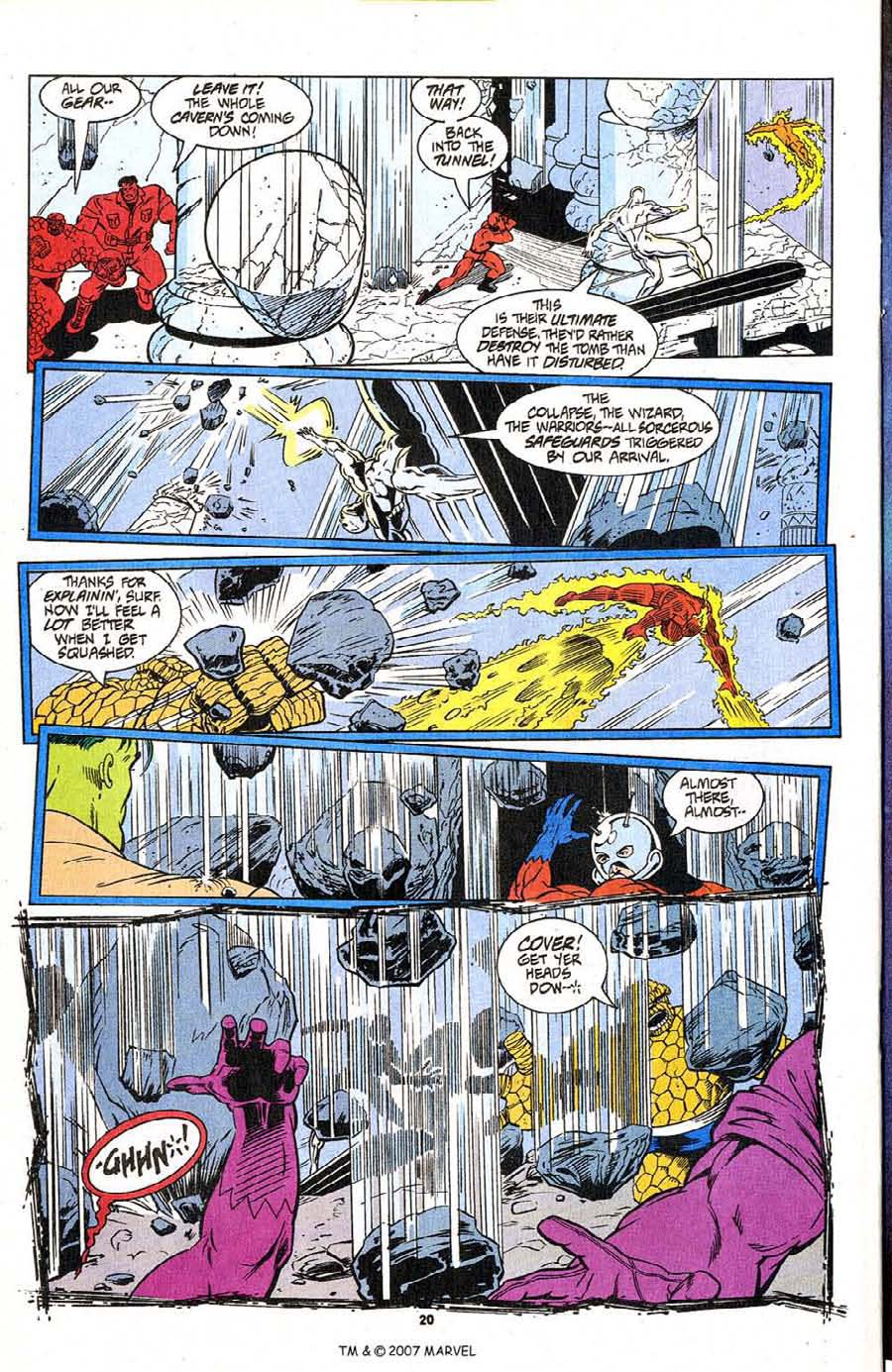 Read online Silver Surfer (1987) comic -  Issue #96 - 22