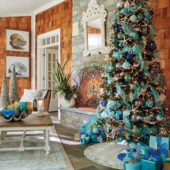 Seaside Decor inspiration for Christmas