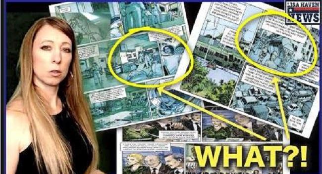 """Λίζα Χέιβεν : Το κόμικ του 2012 """"COVID Prophecy"""" γίνεται πραγματικό"""
