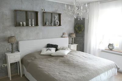 Einblicke ins Schlafzimmer nach dem Makeover von Bloggerin Nicole von Shabbylinas Welt