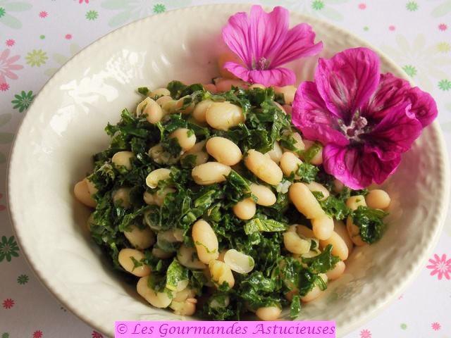 Comment faire une salade de haricots blancs ?